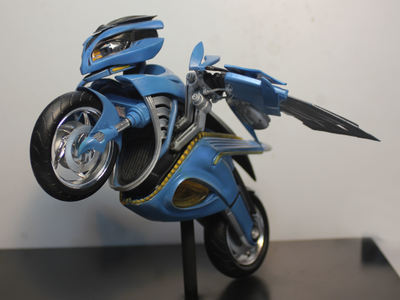 The is the Hawk design maquette for the Free Riders show.