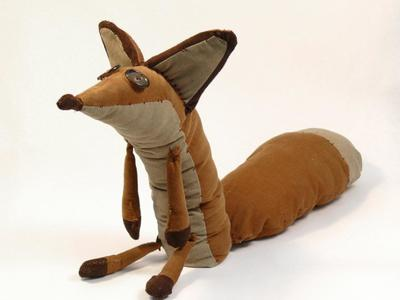 This is the Little Prince Fox Doll design and prototype.