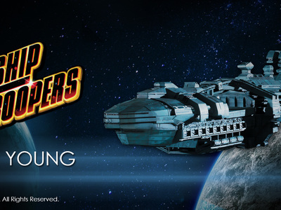 We produced this Starship Trooper 36' long, Rodger Young model prototype for manufacturing for Chronicle collectibles.