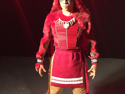 "We created the costume ""Red Wolf"" from Marvel Comics to be worn by Native American, Taboo from Black Eyed Peas for Becoming Marvel. To see how we brought Taboo's favorite comic book character to life, see the full video here: https://youtu.be/LLHVtsIqdeA"