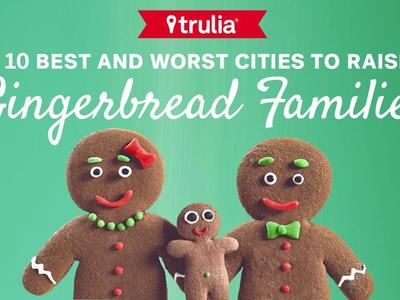 We fabricated these full scale, posable, rubber Gingerbread family members for a series of staged photographic print ads for Trulia.