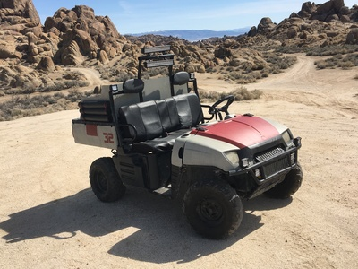 We customized this functional, planetary exploring, off-road vehicle  for the Alien Expedition feature film.