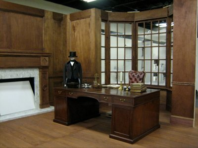 This is Scrooge's office set we fabricated for Image Mover's Digital studio for Disney's A Christmas Carol.